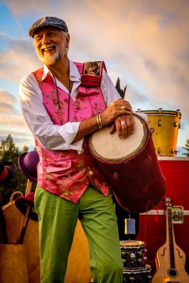 Mick Fleetwood in Maui, Hawaii 2016 © Daniel Sullivan